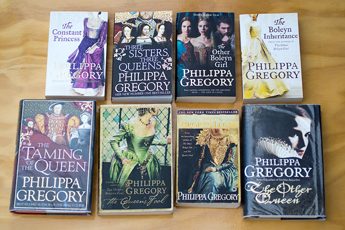 The Tudor Court by Philippa Gregory