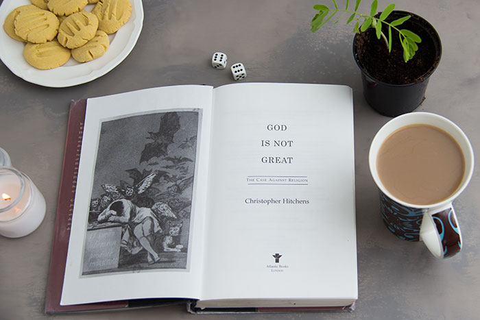 God is not great by Christopher Hitchens. First page