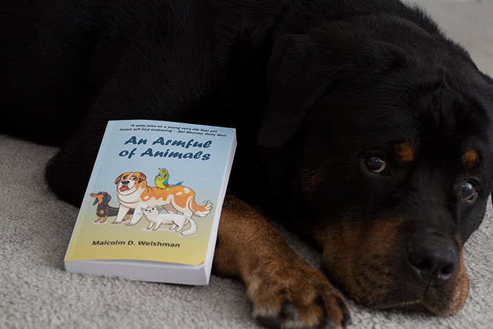 An Armful of Animals by Malcolm D. Welshman