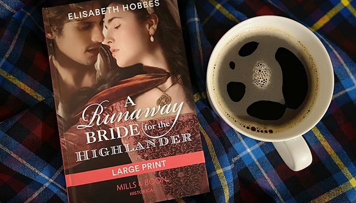 A Runaway Bride for the Highlander by Elisabeth Hobbes