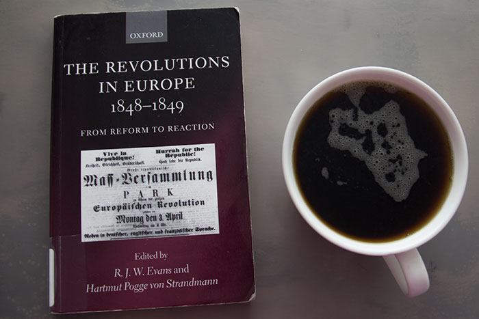 The Revolutions in Europe by Robert Evans and Hartmut Pogge von Strandmann