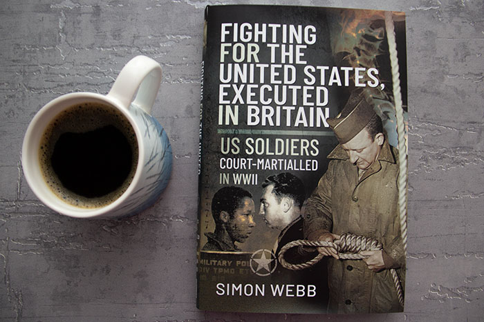Fighting for the United States, Executed in Britain by Simon Webb