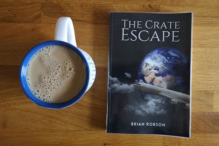 The Crate Escape by Brian Robson